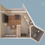 Дизайн интерьера квартир А102 - А602