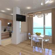 Дизайн интерьера квартир А105 - А705