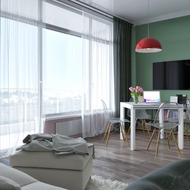 Дизайн интерьера квартир Б107 - Б707