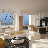 Дизайн интерьера квартиры А802