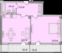 Квартира Б802