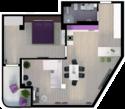 Квартира А409