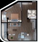 Квартира А208