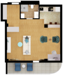 Квартира Б101