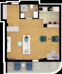 Квартира Б201