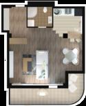 Квартира Б401