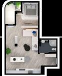 Квартира А301