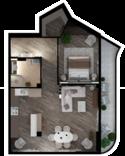 Квартира А207
