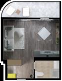 Квартира Б407