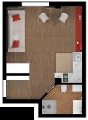 Квартира Б210