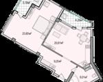 Дизайн-проект квартиры А801 в новостройке ЖК Ласточкино Гнездо (Гаспра)