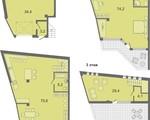 Дизайн-проект квартиры Б1 в Солнечный