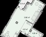 Дизайн-проект квартиры А101 в новостройке ЖК Ласточкино Гнездо (Гаспра)