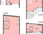 Дизайн-проект квартиры Б2 в Солнечный