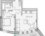 Дизайн-проект квартиры 4 в Солнечный Дарсан